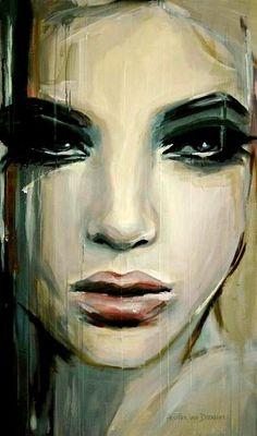 by Hester Van Doornum #art #portrait