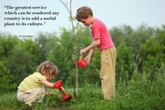 """""""If we want children to flourish, to become truly empowered, then let us allow them to love the earth before we ask them to save it. Perhaps this is what Thoreau had in mind when he said, """"the more slowly trees grow at first, the sounder they are at the core, and I think the same is true of human beings.""""  -David Sobel, Beyond Ecophobia  ENJOY EVERY MOMENT"""