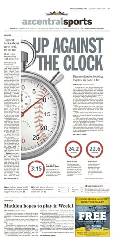 "The Arizona Republic // ""Up against the clock"" // 05.24.2016"