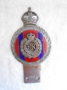 J R Gaunt London car badge