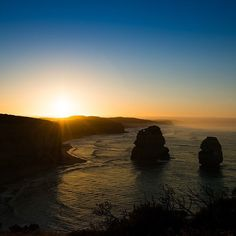Sunrise - East of The Twelve Apostles - Great Ocean Road #nofilterneeded # #Sunrise #sunset #twelveapostles #12apostles #greatoceanroad #sunshine #skyporn #ocean #oceanporn #reflections #light #sunrays #paradise #Victoria by evers