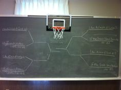 Primary Singing Time March Madness! We had so much fun doing this!!! Great for review! Start with Elite 8 then Final Four then Championship. Sing each song, pick a bball shooter for each song, whoever makes the basket, that song advances in the bracket. The kids thought this was awesome!