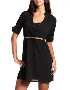 Charlotte Russe: $25.00   Belted Chiffon Shirt Dress  http://www.charlotterusse.com/product/Clothes/Dresses/Belted-Chiffon-Shirt-Dress/pc/2114/c/0/sc/2133/208178.uts?colorCode=301332738_001#
