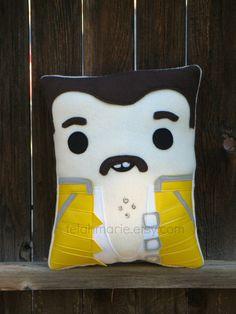 Freddie Mercury Pillow Queen plush pillow by telahmarie on Etsy, $34.00
