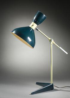 Lamp, circa 1952, manufactured circa 1952-1954, Ralph O. Smith Manufacturing Company (United States, California, Burbank, circa 1949-1954), Olga Lee (United States, active United States, California, Los Angeles, born 1924)