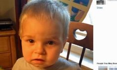 Two-year-old Kaleb Ahles reportedly lifted gun from glove compartment in car and turned it so that it faced his chest and squeezed the trigger