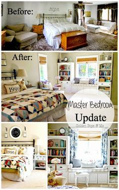 Golden Boys and Me: Master Bedroom Before & After and Sources