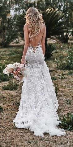 27 Chic Bridal Dresses: Styles & Silhouettes We have put together different bridal dresses for you to help find perfect gown. Keep in mind wedding dress details make gowns more stunning and unique. Black Wedding Dresses, Princess Wedding Dresses, Boho Wedding Dress, Wedding Bride, Fashion Wedding Dress, Sheath Wedding Dresses, Backless Mermaid Wedding Dresses, After Wedding Dress, Cheap Bridal Dresses