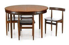 Danish Dining Set (Dining Table/Chairs) Hans Olsen for Frem Rojle