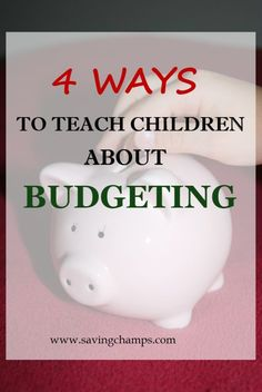Teaching kids about money--ideas on how to teach kids about budgeting and money management. Parenting tips, money saving tips.