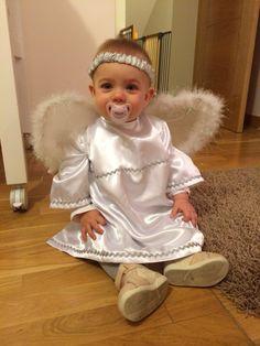 Disfraz angelito casero Navidad