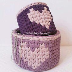 Thanks a lot to @zahra_crochett for this lovely baskets crochet with ReTwisst t-shirt yarn #retwisst #tshirtyarn #tshirtyarnbag #fabricyarn #yarn #tapeyarn #trapillo #textilgarn #stofgarn #ribbon #xxlace #barbante #crochet #knitting #stricken #häkeln #hobby #creativity #happiness #tshirtyarnbag #crochetbag #textilgarntasche #häkeltasche #трикотажнаяпряжа #тпряжа