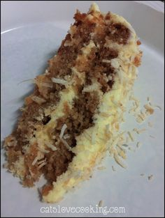 HUMMINGBIRD CAKE AKA THE BEST CAKE EVER by Chanel at Cats Love Cooking (original recipe from March 2007 issue)
