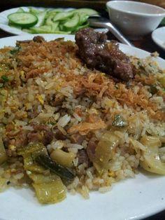 Cơm rang dưa bò  Vietnamese Food