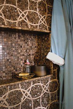 mosaic bathroom tiles | New Ravenna