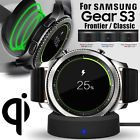 Qi Wireless Charging Dock Cradle Charger For Samsung Gear S3 Classic   Frontier8  Compatible Connectivity - Wireless, Inputx - 5V 700-1000mA, Outputx - 5V 500mA, Power Capacity - 1000mAh, Type - Wireless Charger Dock for SAM gear S3, Wireless Charging Standard - Qi