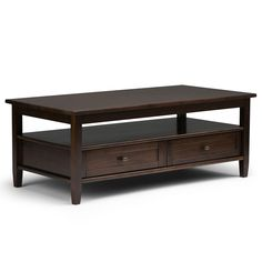 Warm Shaker 48 inch Coffee Table