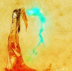 Azula. Never really been that interested in Azula art but I thought this was lovely.