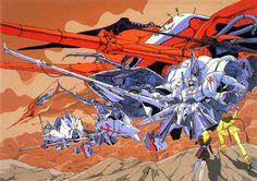 nagano mamoru five star stories mecha Cyberpunk, Anime Zone, Gundam Art, Mecha Anime, Good Manga, Character Design References, Character Art, Wallpaper Pictures, Five Star