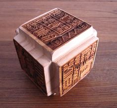 Liù miàn yìn (六面印), a cube used in printing seals, chops, registers, and other indications of sacred authority.