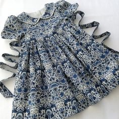 The final piece in the Liberty of London wedding range. A beautiful little girls dress in 'Lodden'. Perfect for that very special of occasions. Beautiful Summer Dresses, Beautiful Little Girls, Pretty Dresses, Little Girl Dresses, Girls Dresses, Little Miss Dress, Occasion Spéciale, Special Occasion, Dirndl Skirt