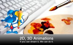 We can make your dream come alive through our 2D and 3D animation designing