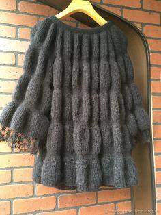 Lace Knitting Patterns, Dress Sewing Patterns, Crochet Jacket, Knit Jacket, Diy Crafts Knitting, Fashion Show Dresses, Womens Trendy Tops, Cardigan Sweaters For Women, Knit Fashion
