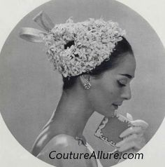 Couture Allure Vintage Fashion: Vintage Hats - 1957