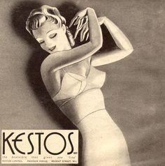 Vintage Bra, Vintage Underwear, Retro Vintage, Sewing Lingerie, Retro Lingerie, Fashion Lingerie, Stockings Lingerie, Bullet Bra, Retro Images