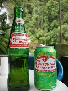 Guarana Antarctica - (Brazilian national soda)The best soft drink ever!
