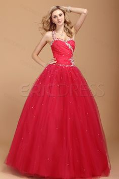Floor Length Beading One-shoulder Dasha's Prom/Quinceanera Dress Quinceanera Dresses- ericdress.com 7586361