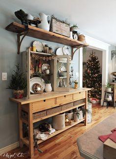 Kitchen_vignettes_Christmas | Vin'yet Etc.