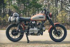 Super Scrambler: An old-school Ducati custom via @bikeexif
