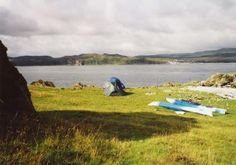 Camping on Jura (James Carron) Camping Scotland, Open Up, Backpacking, Countryside, Golf Courses, Coast, Explore, World, Water