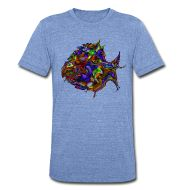 Camisetas ~ Camiseta  Tri-Blend de American Apparel unisex ~ Número del producto 101983491