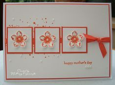 MaKing Papercrafts: One for the Mum's!