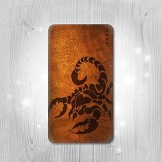 Scorpion Tattoo Gadget Personalized Tech Gift Usb by Lantadesign