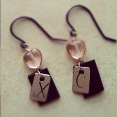 X and O Earrings