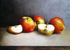 Henk Smeels Apples Oil on board Vegetables, Apples, Oil, Image, Board, Abstract Art, Vegetable Recipes, Apple, Planks