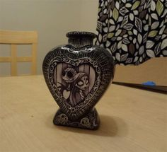 Day Of The Dead Nightmare Before Christmas Jack Skellington Lowbrow Bud Vase