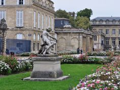 Jardin Public. Bordeaux, France