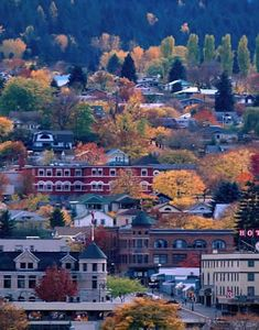 Nelson, BC just gorgeous in the fall