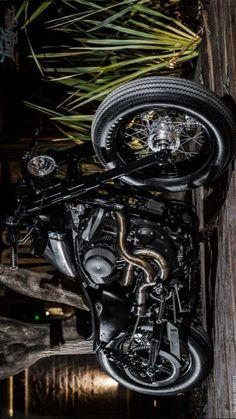Bobber Motorcycle, Bobber Chopper, Motorcycles, V Rod, Bmw Cafe Racer, Harley Bikes, Road King, Kustom, Custom Bikes