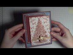 A very talented crafter makes an awesome Christmas Card - Tunnel Card
