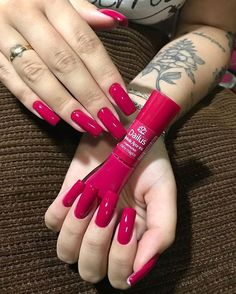 Best Nail Polish Colors of 2020 for a Trendy Manicure Perfect Nails, Gorgeous Nails, Love Nails, Fun Nails, Stylish Nails, Trendy Nails, Nail Paint Shades, Magenta Nails, Luxury Nails