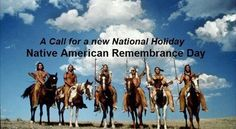 U.S. Congress: Replace Columbus Day with Native American Remembrance Day
