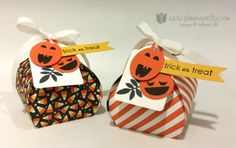 Trick or Treat - Stampin' Connection