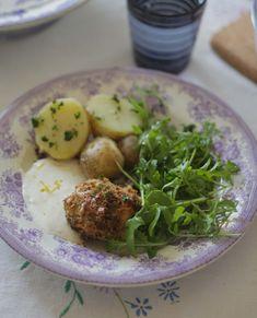 Ungsbakad torsk med citronsås och krispigt täcke | UnderbaraClara | Amelia bloggar