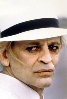 "Klaus Kinski in ""Fitzcarraldo"", directed by Werner Herzog, 1982. What an amazing shot."