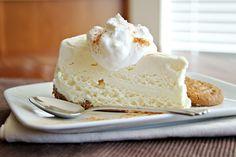 Let's Dish Recipes: EGGNOG ICE CREAM PIE